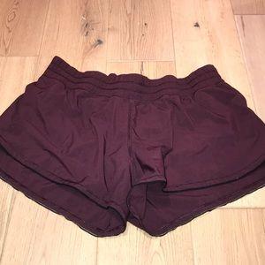 Lululemon Shorts in mahogany
